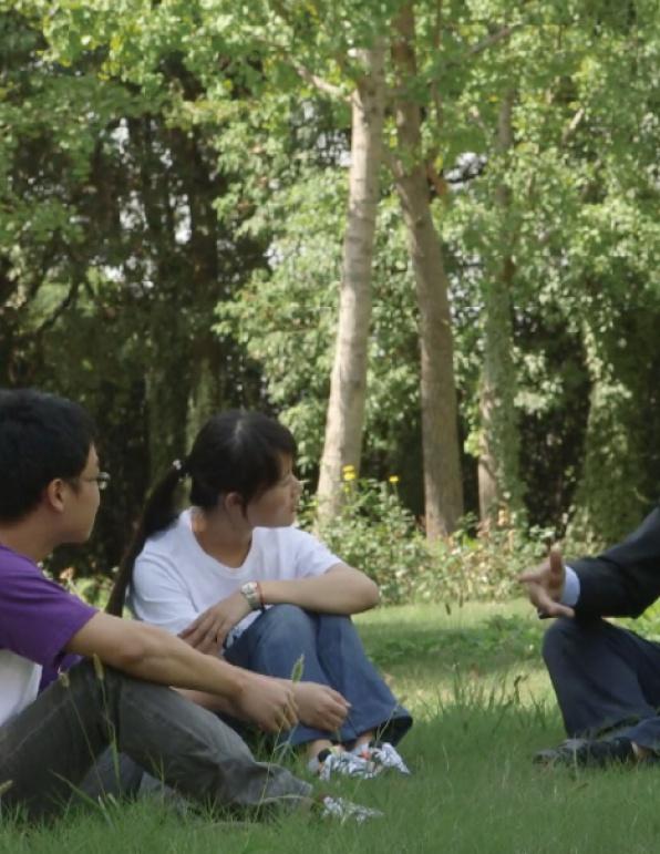 国内首门MOOC课程上线国际平台拍摄花絮